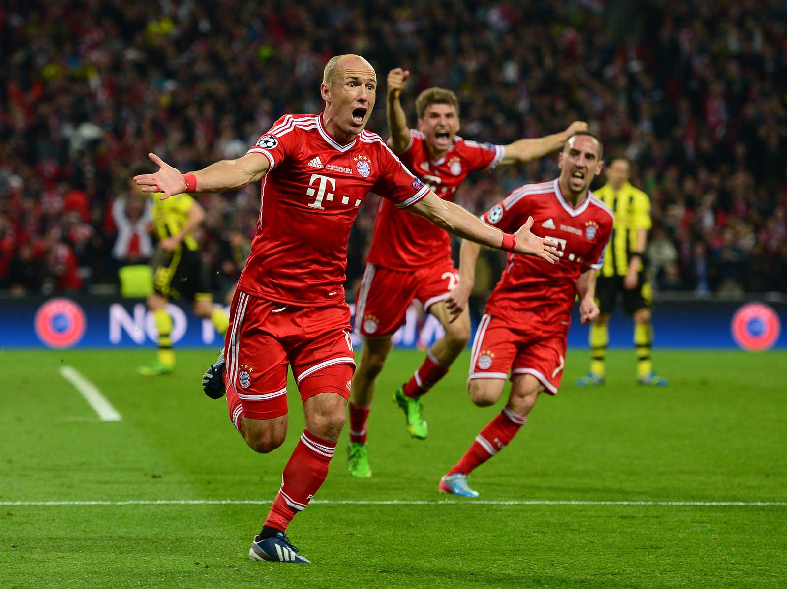 Image result for robben ribéry 2013